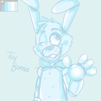 Palette Request 01: Toy Bonnie by AnimatronicBunny