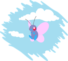 butterfree by sunnyfish