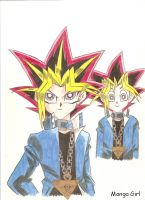 Yami and Yugi by MangaGirl232