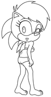 Sonia Swimsuit Uncolored by sonictopfan