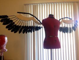 Akuma Homura wings tutorial front by Deanna-Lee