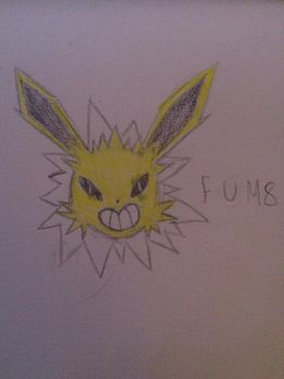 Jolteon by gr0ss-squeaking