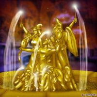 Fountain of Magical Bethren by Harry-Potter-Spain