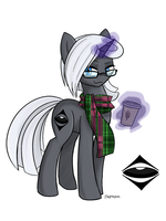 Commision: Hipster Raven Horn by Thattagen