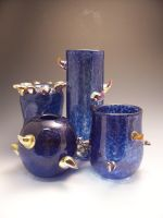 blue spikey vessels by sjacklyn