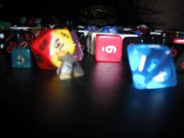 Theee Dice by luethlover