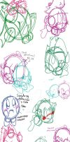 Doodles and Practice BABUS INCLUDED by SweetPops05