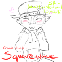 Square-Wave-Is-Too-Cute-Holy-Shit by Taiinty