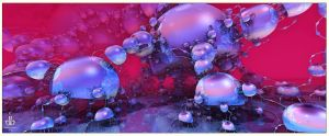 Where They Make Bubbles by bluefish3d