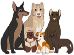 Serenity Dogs by Miiroku