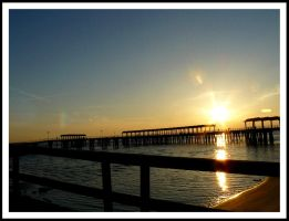 Jekyll Island Sunset 003 by sees2moons