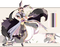 .:CLOSED:. Adoptable - Chidus Species 04 by chisei-adopts