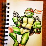 TMNT Mikey by beamer