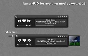 itunesHUD mod for avetunes by wewe323