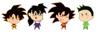 DBZ Chibi by BechaXFluo