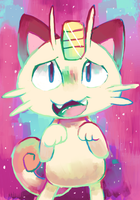 Meowth by sweating