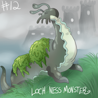 Loch Ness Monster by eternalsaturn