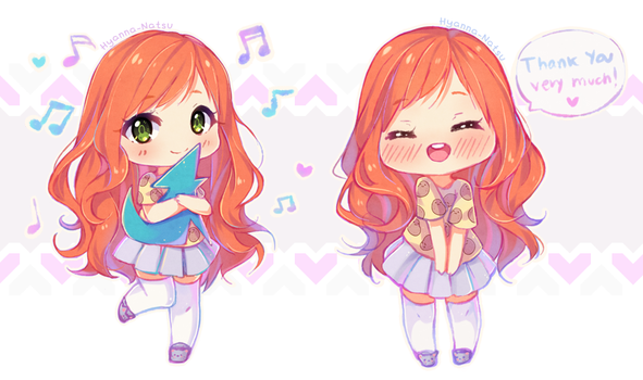 Commission - Sweet Alice chibis 2/6 by Hyanna-Natsu