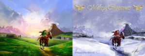 Before and after zelda image by srs17