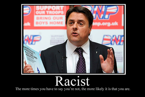 Racist Demotivator by Party9999999