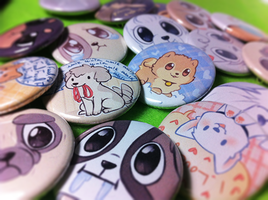 buttons! by Mousu