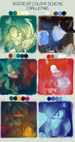 Color meme XD chaos emeralds everywhere by shadzter