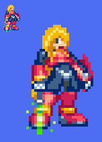 Custom Zero sprite by TunDeri