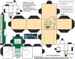Fut1: Hubert Farnsworth Cubee by TheFlyingDachshund
