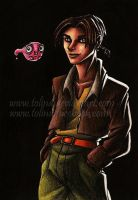 Treasur Planet - Jim Hawkins by Tolina