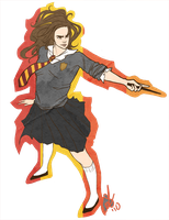 Hermione by Woman-King