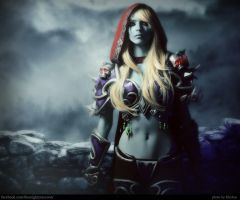 Sylvanas Windrunner : The Banshee Queen by MightyRaccoon