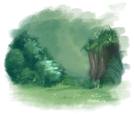 Woodland WIP by issique