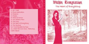 Within Temptation CD Cover by Kari-Morano