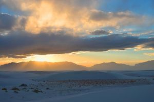 White Sands NM Sunset by honda-vfr