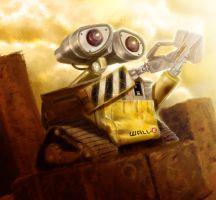 WALL-E by Dogsfather