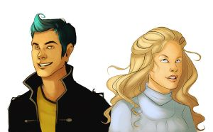 ted and victoire revisited by starsandpolkadots