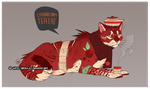 Cranberry Teacat Adoptable (CLOSED) by Gato-Iberico