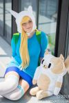 Relaxing Time with Fionna and Cake by LittleRecordGirl