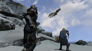 Paarthurnax arrives by Soapsim