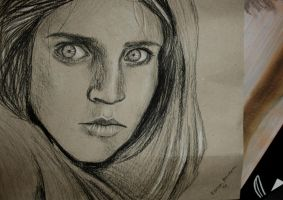 Afghan girl by roospe