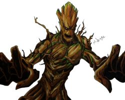Groot by MikeES
