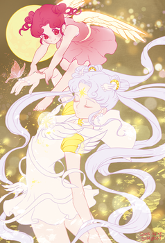 Cosmos and Chibichibi by pt0317
