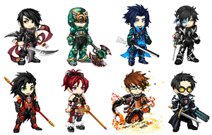 Blood Squad Ver. 2014 by OmegaZXA