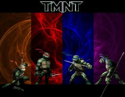 TMNT - Fractal Wallpaper by the14thgod