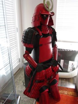 Deadpool Samurai Armor by Andihandro