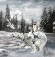 The Snow Queen by solsan