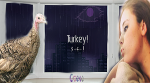 McKenzie Shultz: Turkey! (Halloween 20I4) by Royameadow