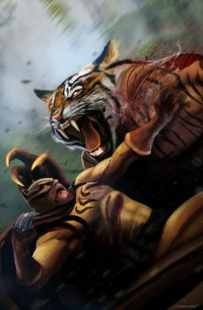 Secret Six 17 - Cat Fight by DanLuVisiArt