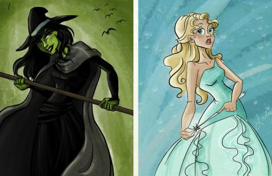 No One Mourns the Wicked by liliribs