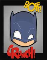 Heads Up Adam West Batman by HeadsUpStudios